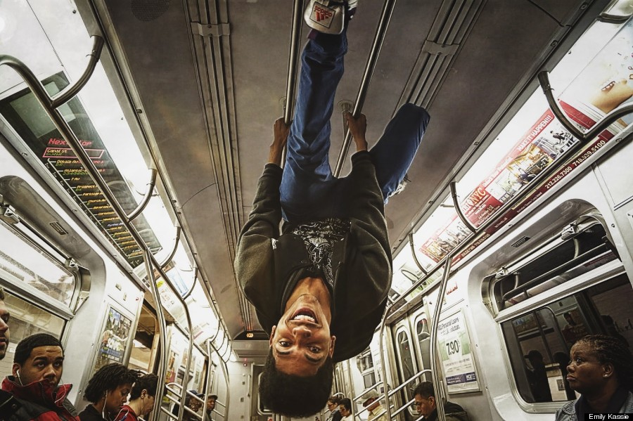 NEW YORK'S BEST $3 LIVE DANCE SHOW: M-TRAIN, BROOKLYN